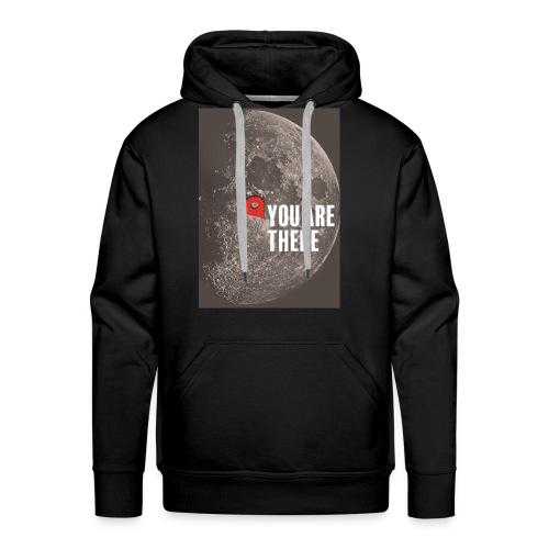Dans la lune - Sweat-shirt à capuche Premium pour hommes