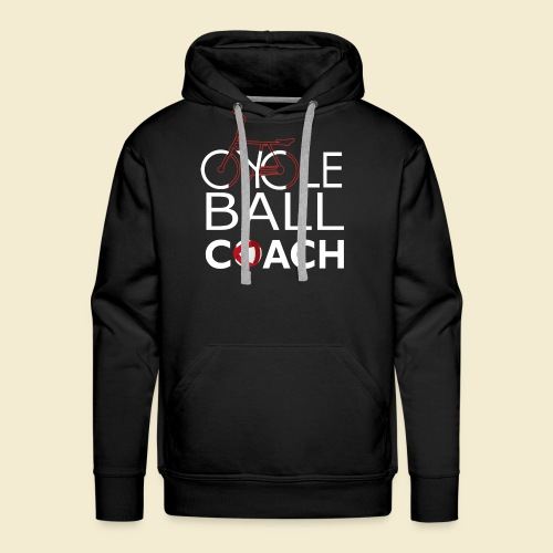 Radball | Cycle Ball Coach - Männer Premium Hoodie