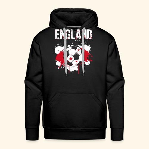 England Meister Fußball Fussball Shirt Geschenk - Männer Premium Hoodie