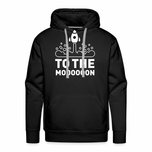 To The Moooooon - Männer Premium Hoodie