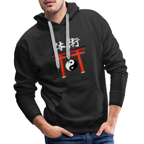taï-jitsu - Sweat-shirt à capuche Premium pour hommes