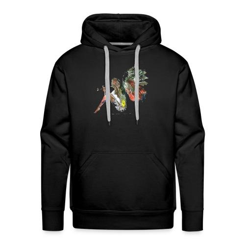 Ninfa de colores - Sudadera con capucha premium para hombre