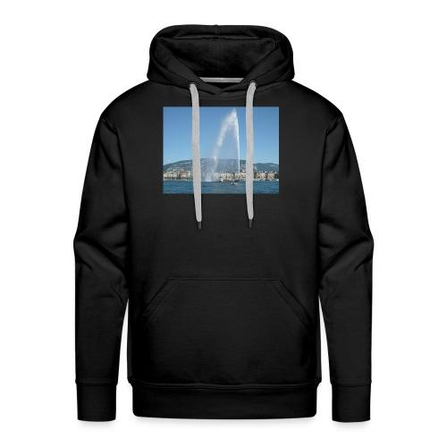 geneva jet deau - Sweat-shirt à capuche Premium pour hommes