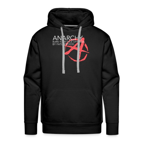 ANARCHY Black - Men's Premium Hoodie