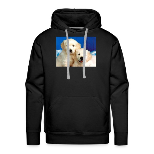 Golden labs pups - Men's Premium Hoodie