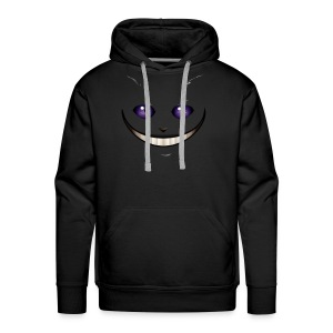 cheshire cat - Sweat-shirt à capuche Premium pour hommes