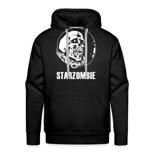 STARZOMBIE White Logo - Premiumluvtröja herr