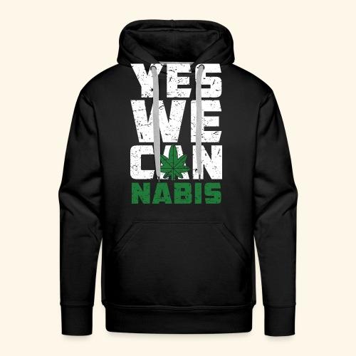 Yes We Can(nabis) - 420 Times - Männer Premium Hoodie