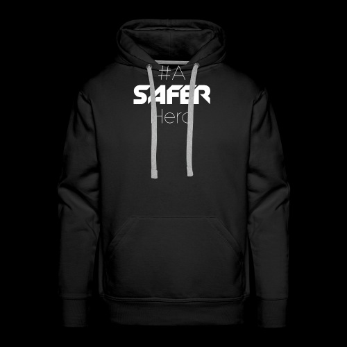 #ASaferHero - Männer Premium Hoodie