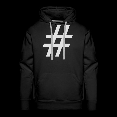 Hashtag Team - Männer Premium Hoodie
