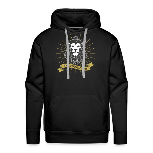 The Man / Mane Club - Der Mann / Mähne Club Retro - Männer Premium Hoodie