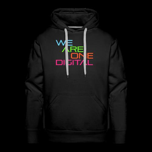 Official We Are One Digital Text Design - Men's Premium Hoodie