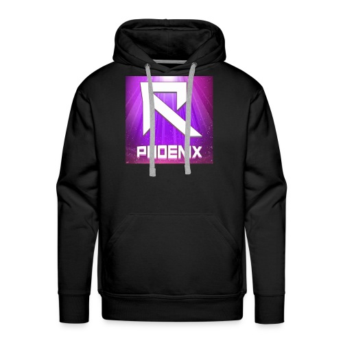 RTrixx Phoenix Logo - Men's Premium Hoodie