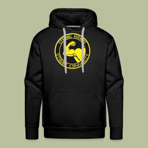 Stronghands 2.0 - Sweat-shirt à capuche Premium pour hommes