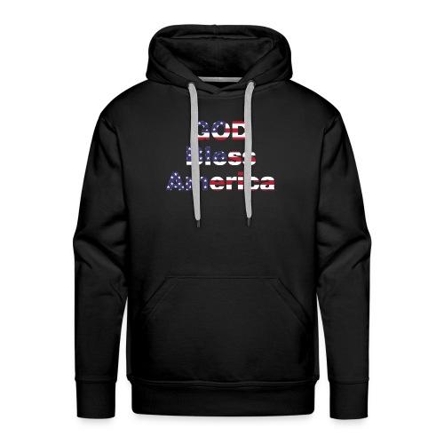 god bless america - Men's Premium Hoodie
