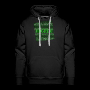 Hacked - Herre Premium hættetrøje