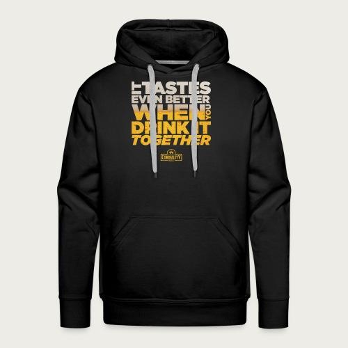 Slogan Typography - Men's Premium Hoodie