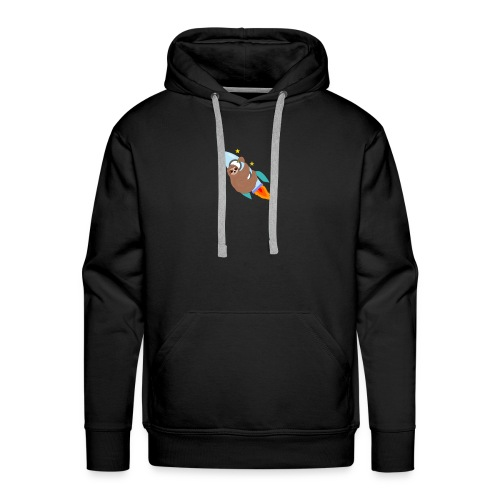 Space Bound Sloth - Men's Premium Hoodie