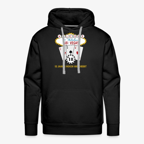 Abipullover Abi Vegas - Männer Premium Hoodie