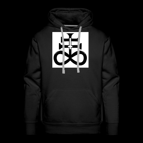 satanic cross - Men's Premium Hoodie