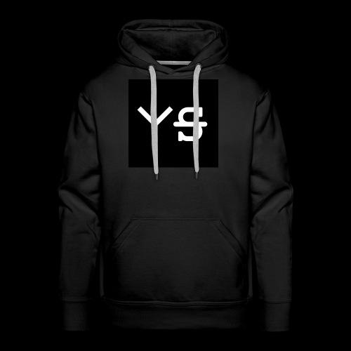 YeetSkeet Letter Logo - Men's Premium Hoodie
