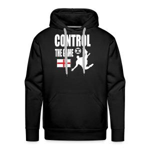 England control the game Russia 2018 - Men's Premium Hoodie