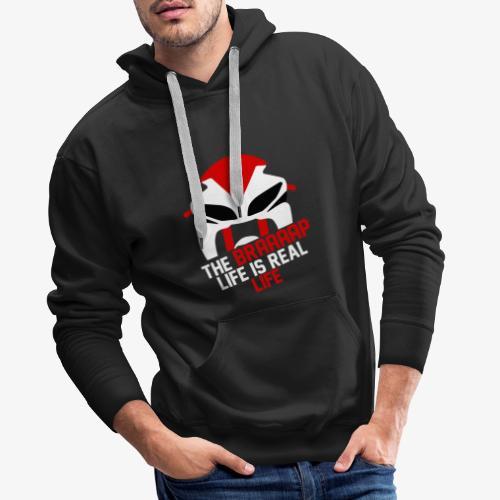 Braaaap Squad solgan - Sweat-shirt à capuche Premium pour hommes