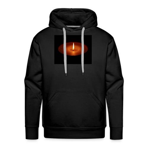 Flamme - Sweat-shirt à capuche Premium pour hommes