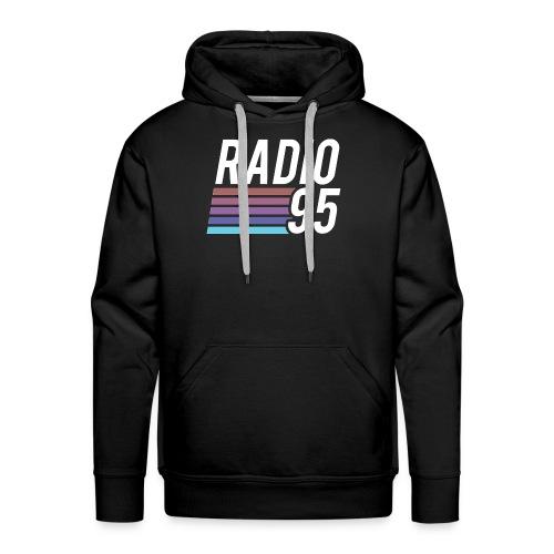 La t-shirt di Radio95! - Felpa con cappuccio premium da uomo