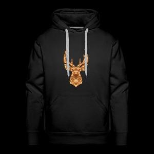 Deer-ish - Bluza męska Premium z kapturem