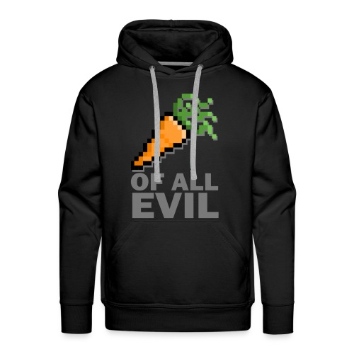 Root of all evil - Mannen Premium hoodie