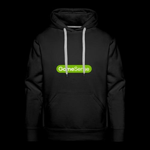 Clothing with green gamesense.pub - logo - Men's Premium Hoodie