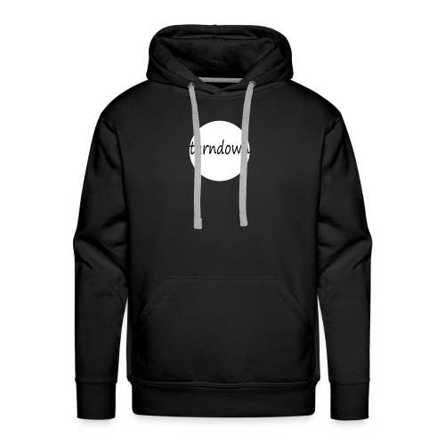 Turndown - Herre Premium hættetrøje