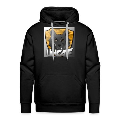 Goldener Wolf - Männer Premium Hoodie