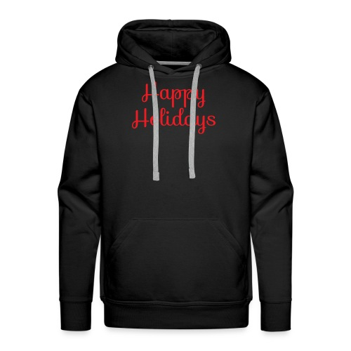 Cool happy holidays Christmas - Men's Premium Hoodie