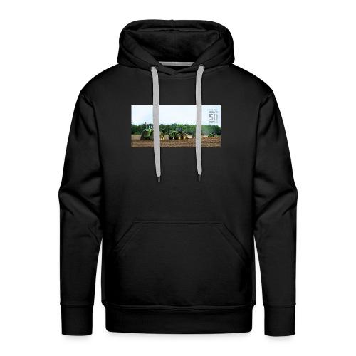 de merch - Mannen Premium hoodie