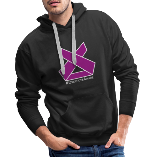 Drug Overdose Awareness Day Drogen Achtsamkeit - Männer Premium Hoodie
