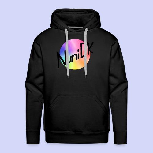 Rainbow shade, NuniDK Collection - Female top - Herre Premium hættetrøje