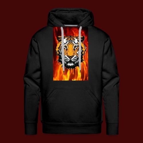 Fire Tiger - Men's Premium Hoodie