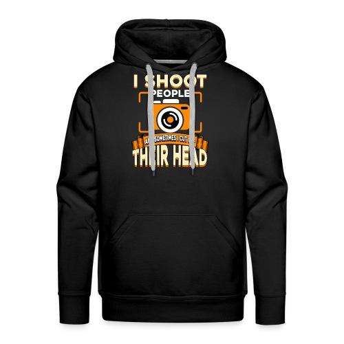 Fotografiere Leute Kopf abschneiden - Männer Premium Hoodie