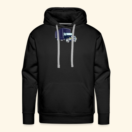 Truck Driver T Shirt - Männer Premium Hoodie