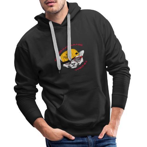 bro-cat Beggarnans Trend - Men's Premium Hoodie