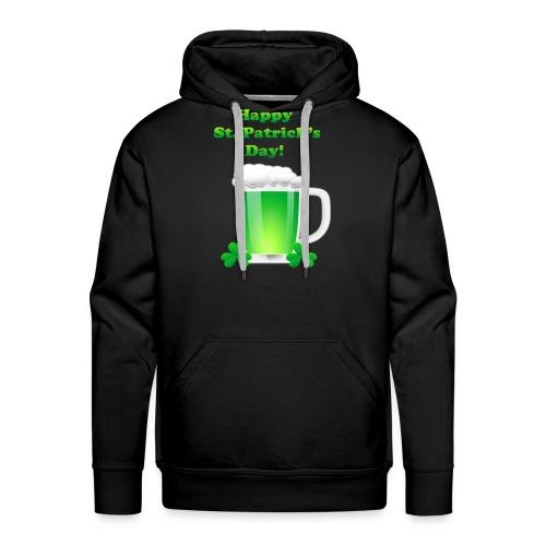 Saint Patrick Day t-shirt - Sweat-shirt à capuche Premium pour hommes