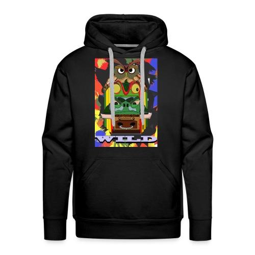 Totem Animal - Sweat-shirt à capuche Premium pour hommes