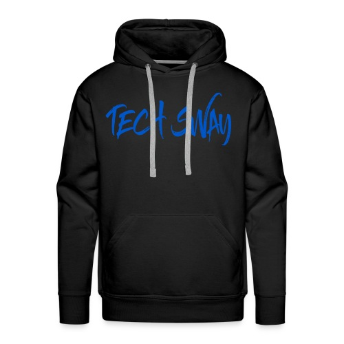 Tech Sway Blue - Men's Premium Hoodie
