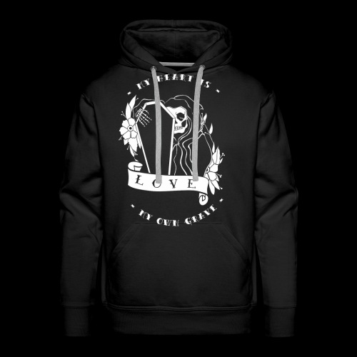 My Heart Is My Own Grave - Männer Premium Hoodie