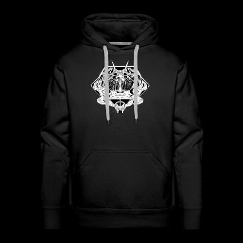 ᐚ ᗕ ᔹ ᖼ ᐻ Ż __________LOGO BY IRIS SON - Sweat-shirt à capuche Premium pour hommes