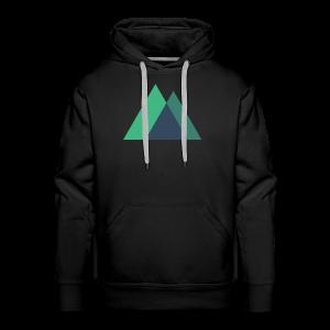 Mountain Logo - Men's Premium Hoodie
