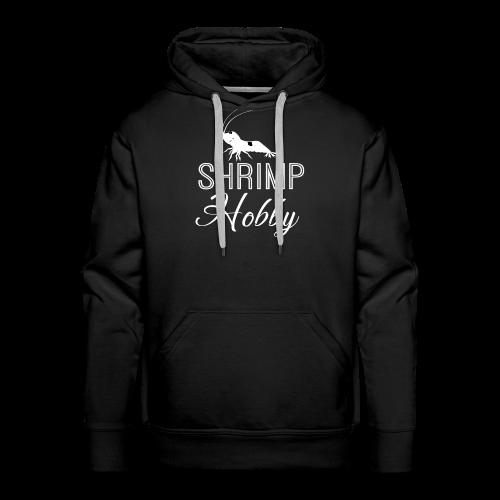 SHRIMP HOBBY [BLANC] - Sweat-shirt à capuche Premium pour hommes