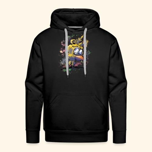 vogeltshirt volledig gekleurd artwork - Mannen Premium hoodie